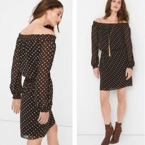 White House Black Market Off-the-Shoulder Dress